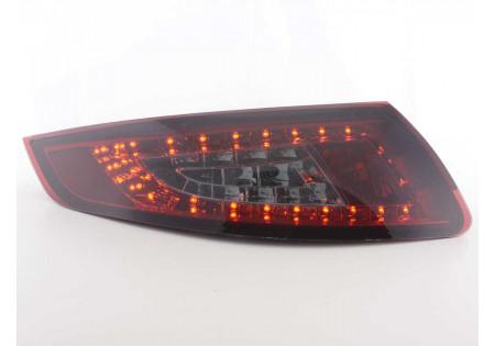 fanali posteriori LED Porsche 911 tipo 997 anno di costr. 05-09- rosso/nero