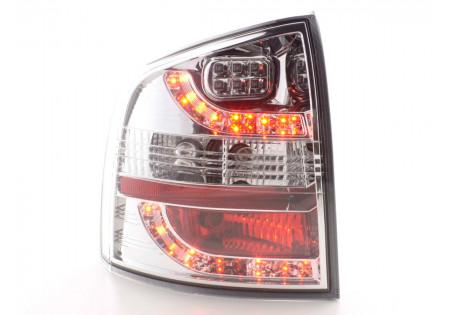 fanali posteriori LED Skoda Octavia Combi tipo 1Z anno di costr. 05-- cromati