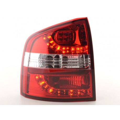 fanali posteriori LED Skoda Octavia Combi tipo 1Z anno di costr. 05-- rosso/chiaro