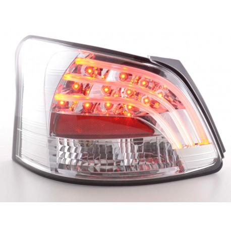 fanali posteriori LED Toyota Yaris Vios anno di costr. 08- cromati