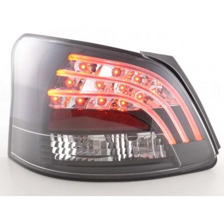 fanali posteriori LED Toyota Yaris Vios anno di costr. 08- nero