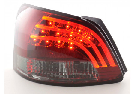 fanali posteriori LED Toyota Yaris Vios anno di costr. 08- rosso/nero