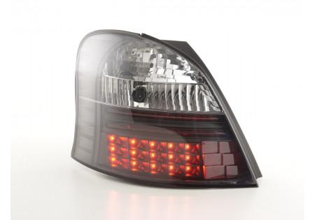 fanali posteriori LED Toyota Yaris anno di costr. 05-09 nero AC-CBRLXLTY14001