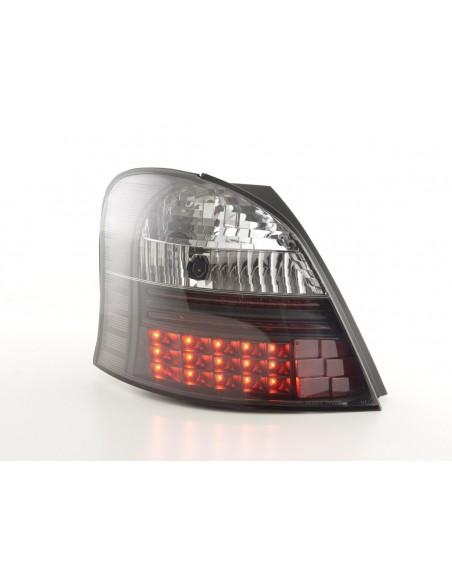 fanali posteriori LED Toyota Yaris anno di costr. 05-09 nero