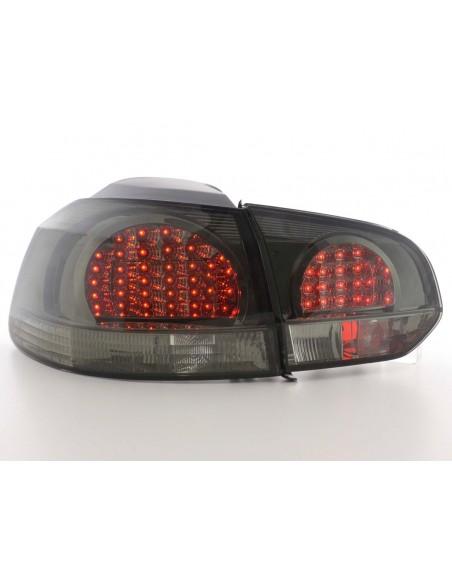Led fanali posteriori VW Golf 6 tipo 1K anno di costruzione 08- nero/rosso