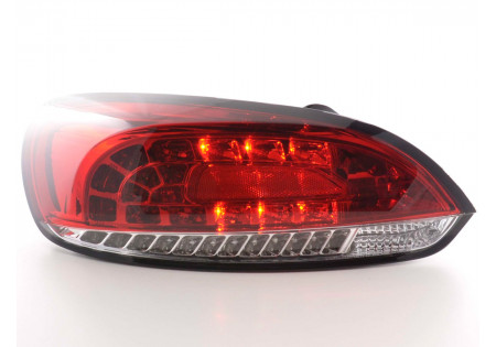 Led fanali posteriori VW Scirocco 3 tipo 13 anno di costruzione 08- cromato