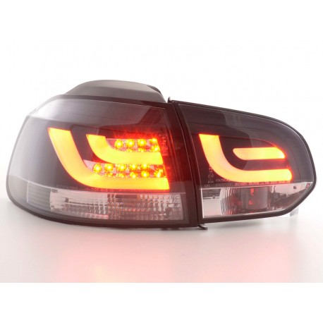 fanali posteriori LED VW Golf 6 tipo 1K anno di costr. 2008-2012 nero