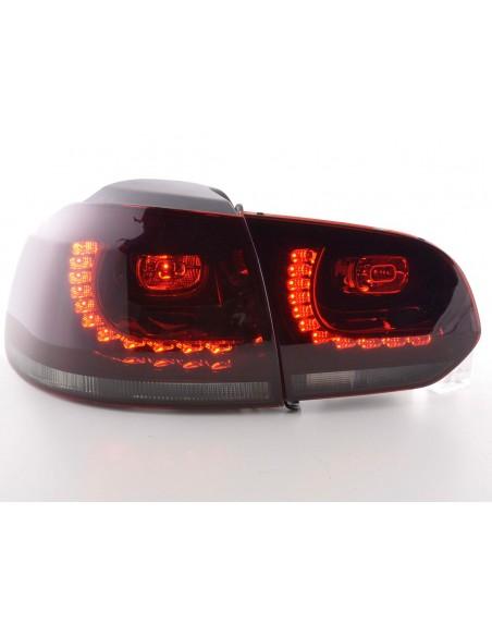 Led fanali posteriori VW Golf 6 tipo 1K anno di costruzione 2008-2012 rosso/nero GTI-Look