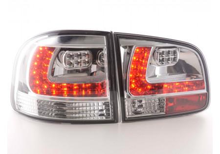 fanali posteriori LED VW Touareg tipo 7L anno di costr. 03-09- cromati