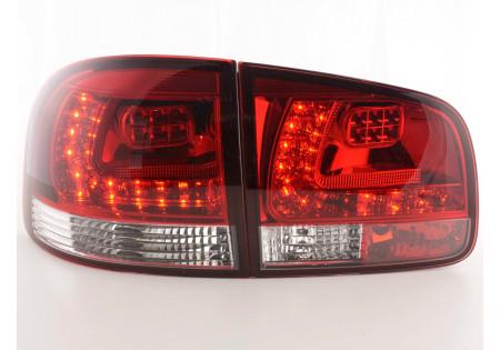 fanali posteriori LED VW Touareg tipo 7L anno di costr. 03-09- rosso/chiaro