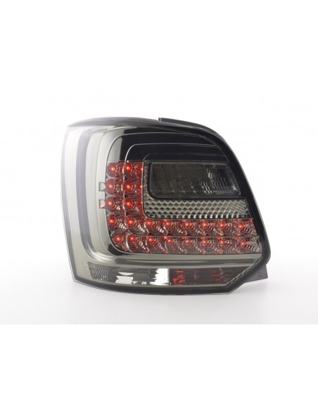 fanali posteriori LED VW Polo 6R anno di costr. a partire da 2009 nero