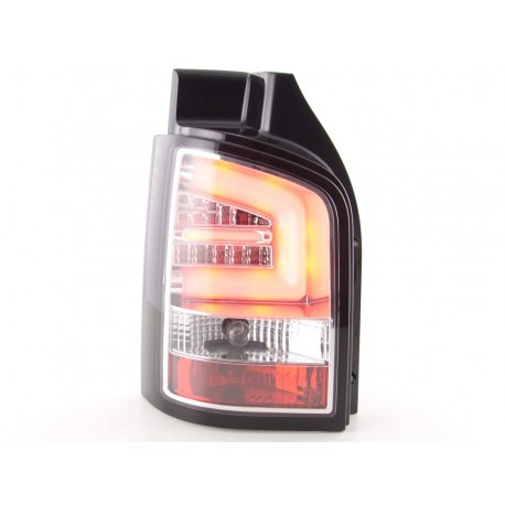 fanali posteriori LED VW T5 anno di costr. 03-10 cromati