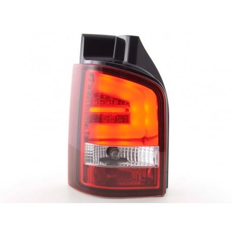 fanali posteriori LED VW T5 anno di costr. 03-10 rosso/chiaro