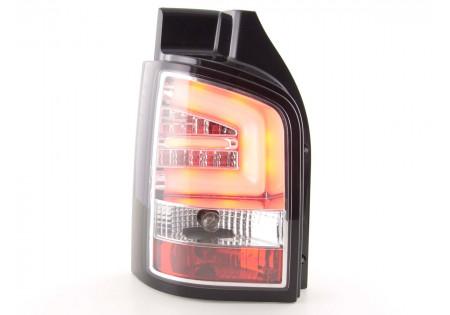 fanali posteriori LED VW T5 anno di costr. 2010- cromati
