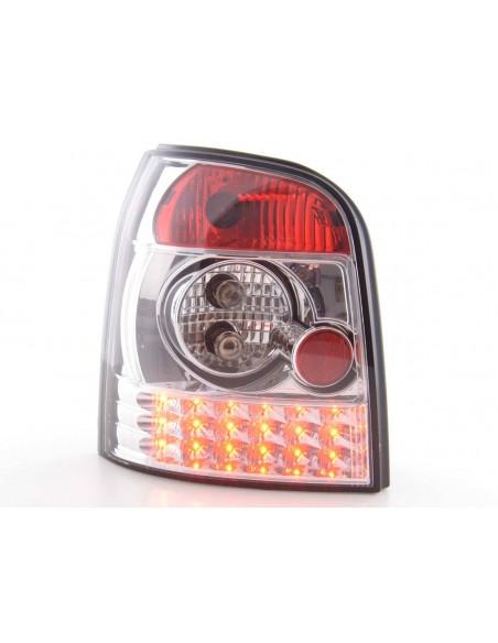 fanale posteriore a LED per Audi A4 Avant (tipo B5) anno di costr. 95-00 nero