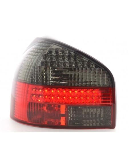 fanale posteriore a LED per Audi A3 (tipo 8L) anno di costr. 96-02 nero