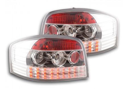 fanale posteriore a LED per Audi A3 (tipo 8P) anno di costr. 03-05 nero AC-CBRLXLAI010007