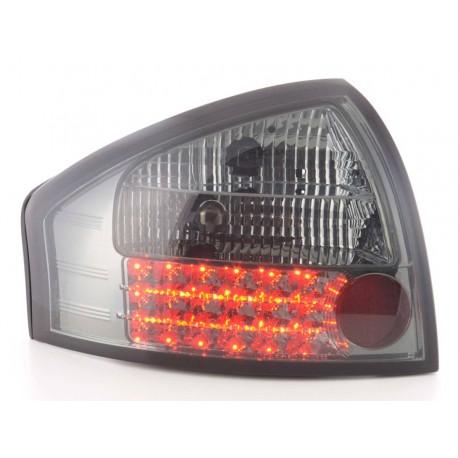 fanale posteriore a LED per Audi A6 Avant (tipo 4B) anno di costr. 97-03 nero/rosso