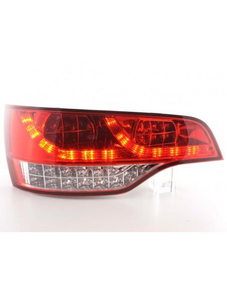 fanale posteriore a LED per Audi Q7 (tipo 4L) anno di costr. 06- cromato