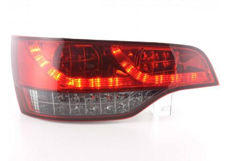 fanale posteriore a LED per Audi Q7 (tipo 4L) anno di costr. 06- chiaro/rosso