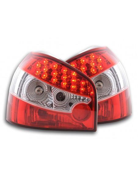 fanale posteriore a LED per Audi A3 (tipo 8L) anno di costr. 96-02 rosso/nero