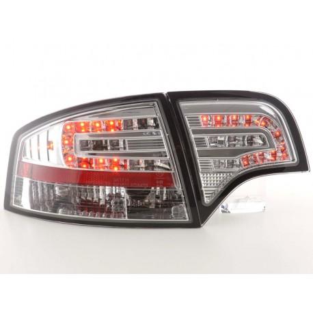 fanale posteriore a LED per Audi A4 limousine (tipo 8E) anno di costr. 04-07 cromato
