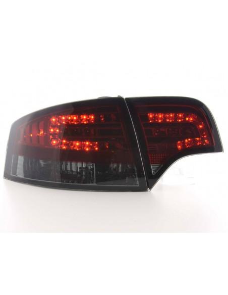 fanale posteriore a LED per Audi A4 limousine (tipo 8E) anno di costr. 04-07 rosso/nero