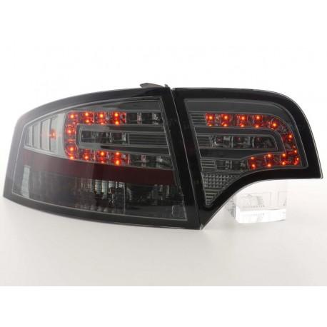 fanale posteriore a LED per Audi A4 limousine (tipo 8E) anno di costr. 04-07 nero