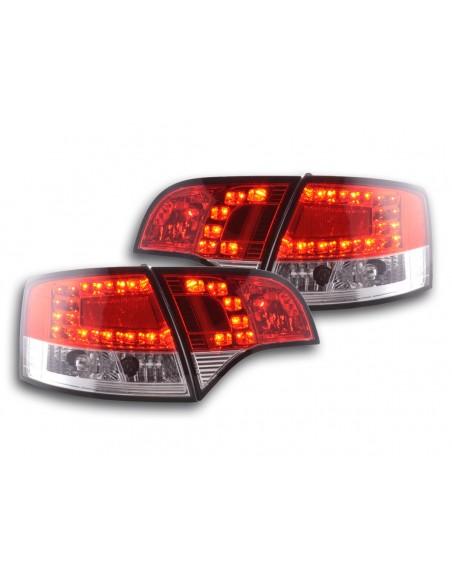 fanale posteriore a LED per Audi A4 Avant (tipo 8E) anno di costr. 04-08 rosso/chiaro