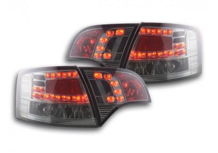 fanale posteriore a LED per Audi A4 Avant (tipo 8E) anno di costr. 04-08 nero