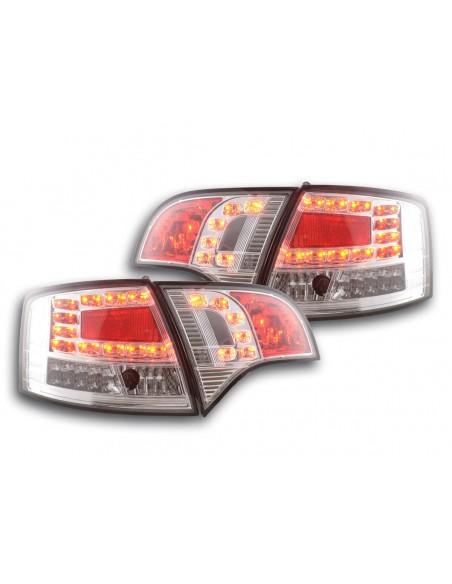 fanale posteriore a LED per Audi A4 Avant (tipo 8E) anno di costr. 04-08 cromato