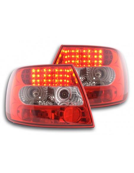 fanale posteriore a LED per Audi A4 limousine (tipo B5) anno di costr. 95-00 cromato