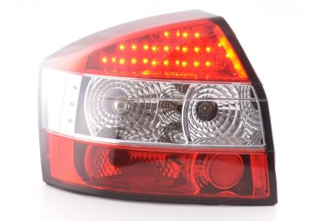 fanale posteriore a LED per Audi A4 limousine (tipo 8E) anno di costr. 01-04 cromato