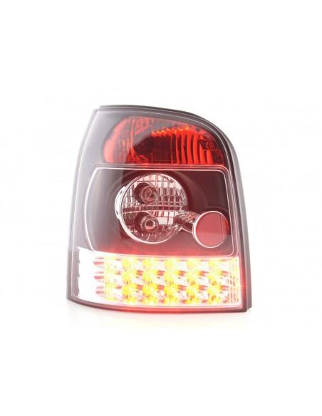 fanale posteriore a LED per Audi A4 limousine (tipo 8E) anno di costr. 01-04 nero