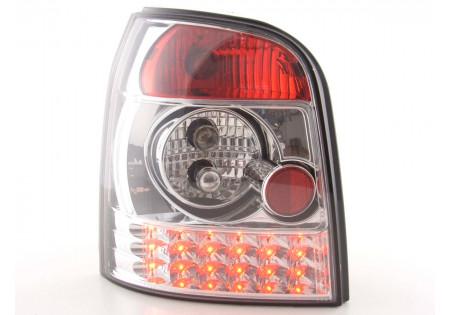 fanale posteriore a LED per Audi A4 Avant (tipo B5) anno di costr. 95-00 chiaro/rosso