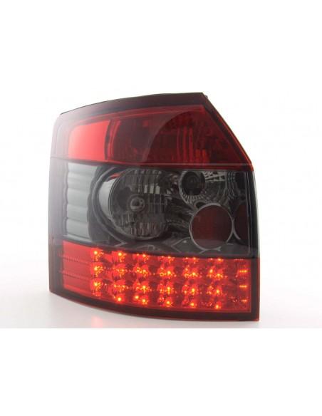 fanale posteriore a LED per Audi A4 Avant (tipo 8E) anno di costr. 01-04 cromato