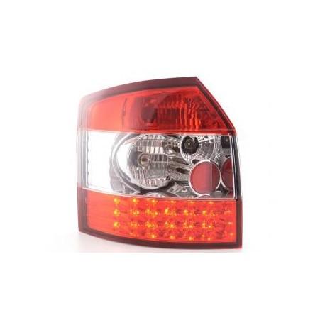 fanale posteriore a LED per Audi A4 Avant (tipo 8E) anno di costr. 01-04 nero/rosso