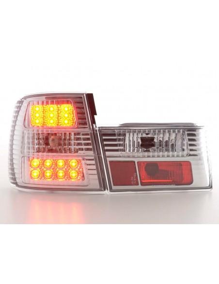 fanale posteriore a LED per BMW serie 5 (tipo E34) anno di costr. 88-94 chiaro/rosso