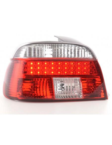 fanale posteriore a LED per BMW serie 5 limousine (tipo E39) anno di costr. 95-00 nero