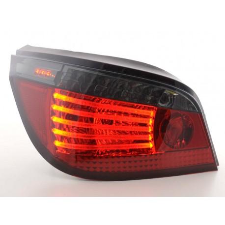 fanale posteriore a LED per BMW serie 5 limousine (tipo E60) anno di costr. 03- nero