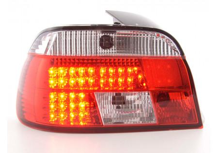 fanale posteriore a LED per BMW serie 5 limousine (tipo E39) anno di costr. 95-00 chiaro/rosso