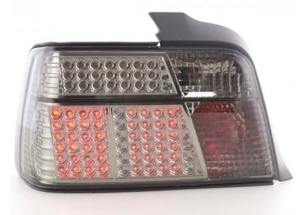 fanale posteriore a LED per BMW serie 3 limousine (tipo E36) anno di costr. 91-98 cromato