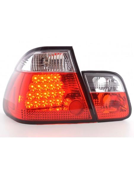 fanale posteriore a LED per BMW serie 3 limousineunsine (tipo E46) anno di costr. 98-01 cromato