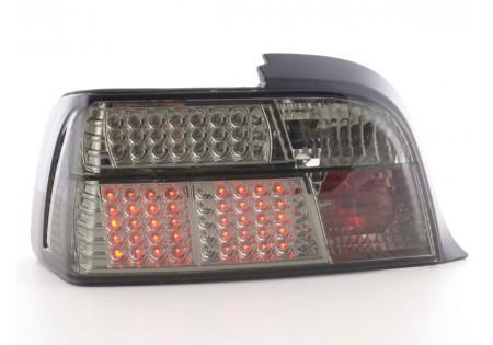 fanale posteriore a LED per BMW serie 3 Coupe (tipo E36) anno di costr. 91-98 rosso/bianco
