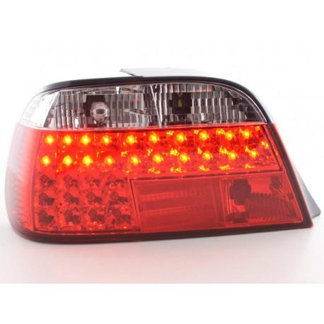 fanale posteriore a LED per BMW X5 (tipo E53) 98- nero