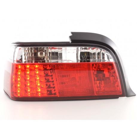 fanale posteriore a LED per BMW serie 3 Coupe (tipo E36) anno di costr. 91-98 cromato