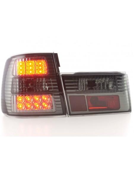 fanale posteriore a LED per BMW serie 5 (tipo E34) anno di costr. 88-94 cromato