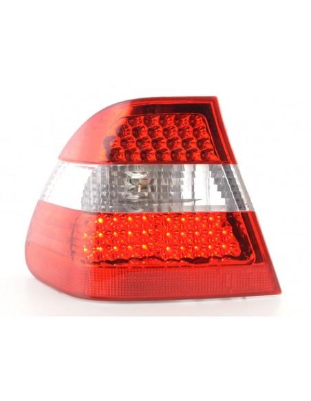 fanale posteriore a LED per BMW serie 3 limousine (tipo E36) anno di costr. 91-98 nero