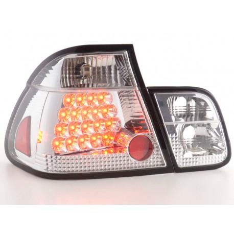 fanale posteriore a LED per BMW serie 3 limousineunsine (tipo E46) anno di costr. 98-01 nero