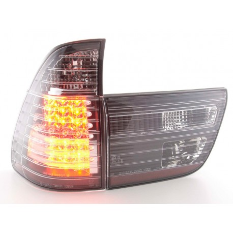 fanale posteriore a LED per BMW X5 (tipo E53) anno di costr. 04- chiaro/rosso